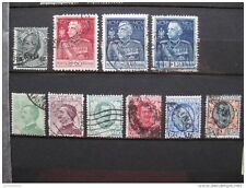 timbres Italie : 1924 - 1926 YT n° 169 178 179 182 183 180 175 176 177 185