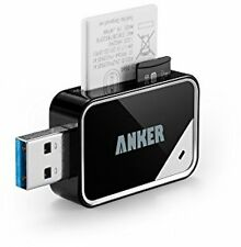 Anker USB 3.0 Card Reader 8-in - 1 | SDXC SDHC SD MMC RS-MMC & Micro
