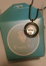 New in Box!~ True Love~ Authentic Origami Owl Black Locket with Carms