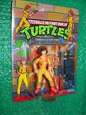 Teenage Mutant Ninja Turtles April O'Neil  c.1990 China name left of figure
