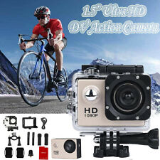 "1.5"" Ultra HD 1080P Sports DV Action Camera Waterproof Camcorders Video"