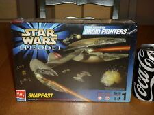 STAR WARS EPISODE 1 TRADE FEDERATION DROID FIGHTERS, SNAPFAST Model , Scale 1/48