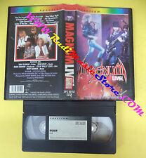 VHS MAGNUM The sacre hour Live BOB CATLEY 1985 SPECTRUM (VM2) no mc dvd lp