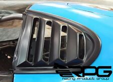 RPG Bozo FRP Rear Quarter Window Louver for 93-98 Toyota Supra JZA80 MKIV