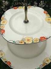 ALFRED MEAKIN RAYMOND Royal marigold plates, Cup CAKE-STAND