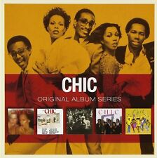 CHIC ORIGINAL ALBUM SERIES 5CD ALBUM SET (2011)