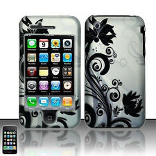 Black Vines Hard Case Cover for Apple iPhone 3G 3GS