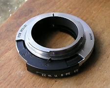 Rollei Voigtlander 35mm SLR  mount Tamron Adaptall