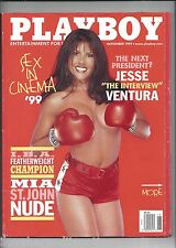 Playboy November 1999 Mia St. John Cover Cara Wakelin Playmate + MORE