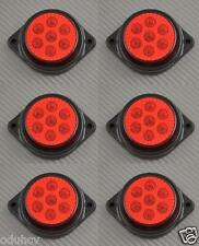 6x 7 LED´s 12V Seite Hinten Marker ROT Beleuchtung Auto SUV Camper 4x4 Pickup