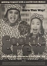 29/4/89Pgn11 Advert: 'born This Way' New Album Cookie Crew & May Tour 15x11