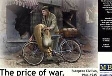 Masterbox The price of war Civilian & Bicycle bicycle model kit 1:35 Diorama