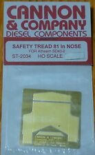 """Cannon & Company HO #2034 Safety Tread for 81"""" Nose Athearn SD40-2"""