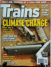 Trains Jan 2017 Climate Change How Will It Affect the Industry FREE SHIPPING sb