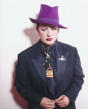 Boy George UNSIGNED photo - H306 - English singer, songwriter and DJ