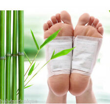 10pc Bamboo Detox Foot Patch Health Weight Loss Mask Skin Health Care Relieve