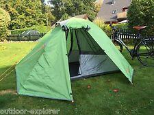 TOP Biker Zelt für 1-2 Personen, Markenware von Red Valley, leicht + stabil