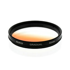 Albinar 52mm Orange Graduated Gradual Color Filter