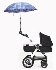 Outdoor Baby Buggy Pram Bicycle Stroller Chair Umbrella Holder Mount Stand LG