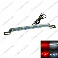 1X Super Bright Switchback White/Red 30LED 5630 Brake Light Reverse Parking Bulb