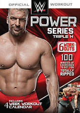 WWE Power Series Triple H DVD *NEW* Free Shipping