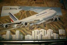 Heller 1:125 80459 Modellbausatz Boeing 747 Air France NEU OVP