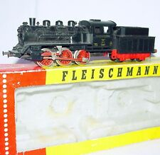 Fleischmann HO 1:87 German DR LOK 25 STEAM LOCOMOTIVE + TENDER #1304 Boxed `80!