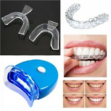 Dental Trays LED Light For Teeth Whitening Tooth Bleaching Kit Carbamide Gel
