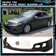 06-08 Acura TSX OE Factory Style Front Bumper Lip Spoiler - Urethane