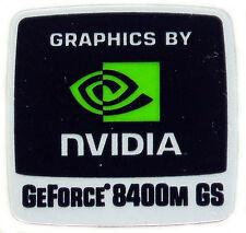 NVIDIA GeForce 8400m GS sticker logotipo pegatinas 18x18mm (248)