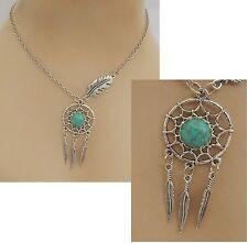 Silver Dream Catcher Pendant Necklace Handmade Adjustable NEW Accessories