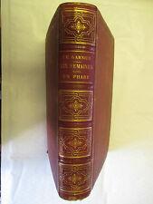 """H. Garnier """"Six semaines dans un Phare"""" illustré /Théodore Lefèvre Editeur"""