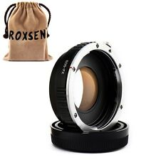 Focal Reducer Speed Booster Adapter Canon EOS EF mount lens to Fujifilm X-E2 T1