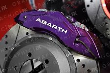 x6 Premium Fiat Abarth Logo Vinyl Brake Caliper Decals - Stickers