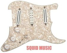 Seymour Duncan Dave Murray Loaded Pickguard Pearloid Hot Rails & JB Jr. Middle