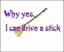 """2"""" x 3"""" Magnet""""YES! I Can Drive a Stick!"""" Funny Decoration Fridge  MAGNET"""
