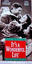 It's a Wonderful Life (Vhs, 1993, Uncut; Slipsleeve) James Stewart, Donna Reed