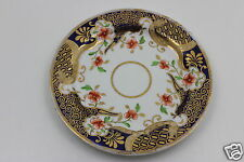 Ridgway Yearly19th Century  Hand Painted  Plate Cobalt Blue/ Gold Gilt 18.5cm D