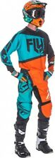FLY RACING  2017 COMPLETO, F-16 , PANT. 34 JERS. L TEAL ORANGE
