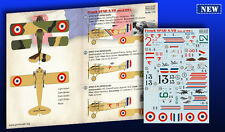 Print Scale - 72-259 - Decal French SPAD S.VII: Aces of WW I - 1:72  *** NEW ***