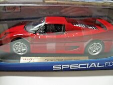MAISTO 1:18 SCALE Ferrari F50 (Close Top) DIECAST RED