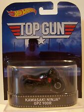 Hot Wheels 1/64 Retro Entertainment Top Gun Kawasaki Ninja GPZ 900R MOC 2015