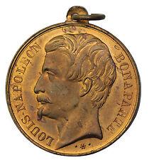 1851 France Napoleon Bonaparte Acclamation En Faveur Du Plebiscite Medal
