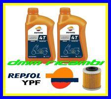 Kit Tagliando APRILIA RS4 125 11 12 + Filtro Olio REPSOL MOTO 4T 5W40 2011 2012