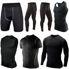 Mens Thermal Compression Base Under Layer Tights Top Vest Shorts Pants Skin Gear