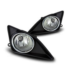 For 2009-2010 Toyota Corolla Clear Lens Chrome Housing ABS Fog Lights Lamps