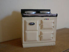 Dollshouse Miniature   ~ CREAM ~ AGA Style Stove