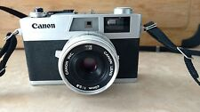 Canon Canonet 28 35mm Camera  40mm 1:2.8 Lens ASA 400 Excellent Condition Vintag