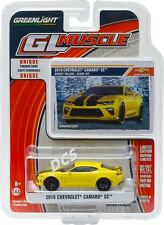 GREENLIGHT MUSCLE 2016 CHEVROLET CAMARO SS 1/64 DIECAST CAR MODEL 13160-E
