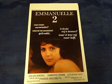 ORIGINAL SEXY MOVIE POSTER / AFFICHE CINEMA - EMMANUELLE 2 ( SYLVIA KRISTEL )